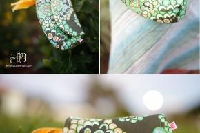 custom handmade wristlet clutch