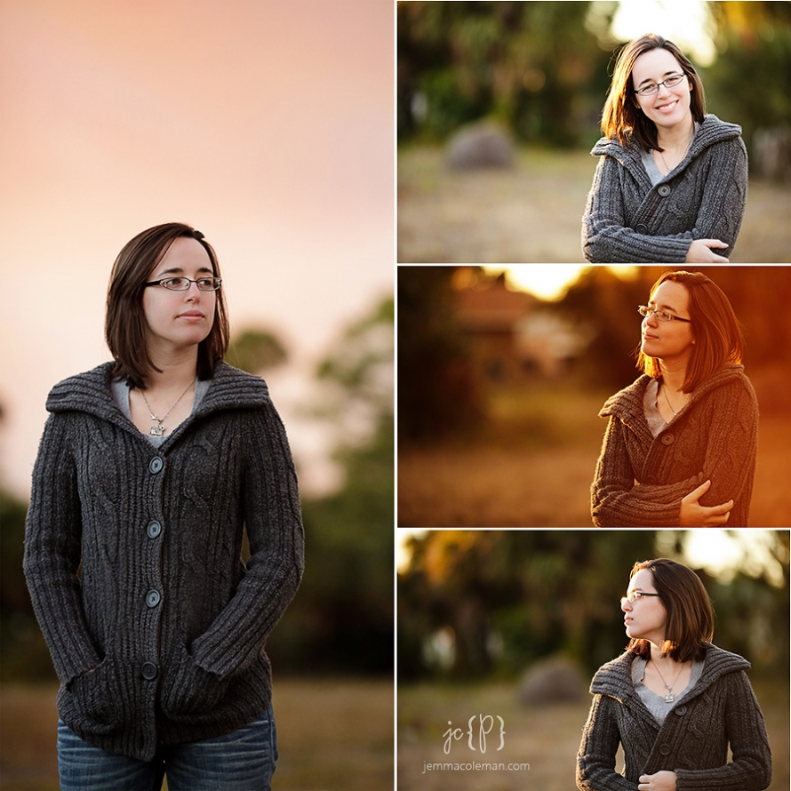 South Florida Senior Portrait Photographer Jemma Coleman