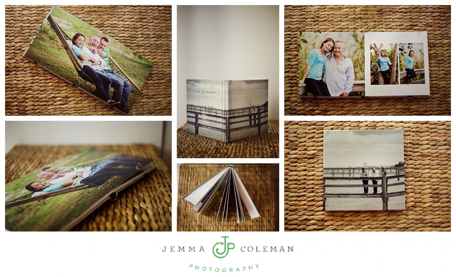 Jemma Coleman Photography Family Photo Book