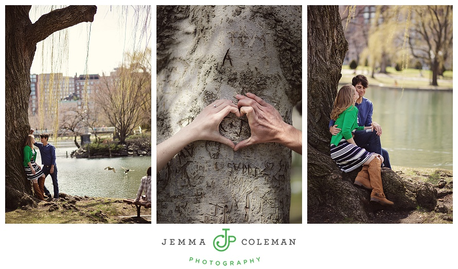 Boston Engagement Session Photographer Destination