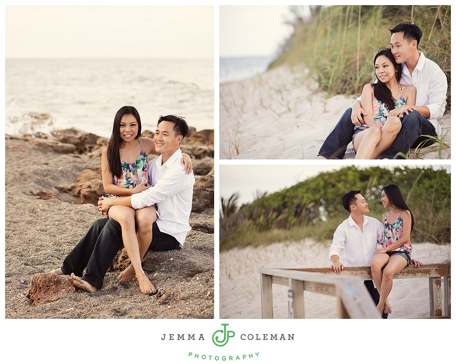 Jupiter Florida Engagement Photos