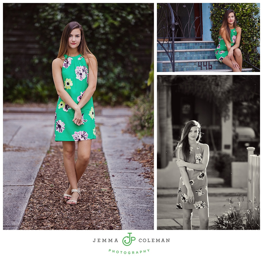 Sarasota Bradenton Senior Graduation Photos South Florida