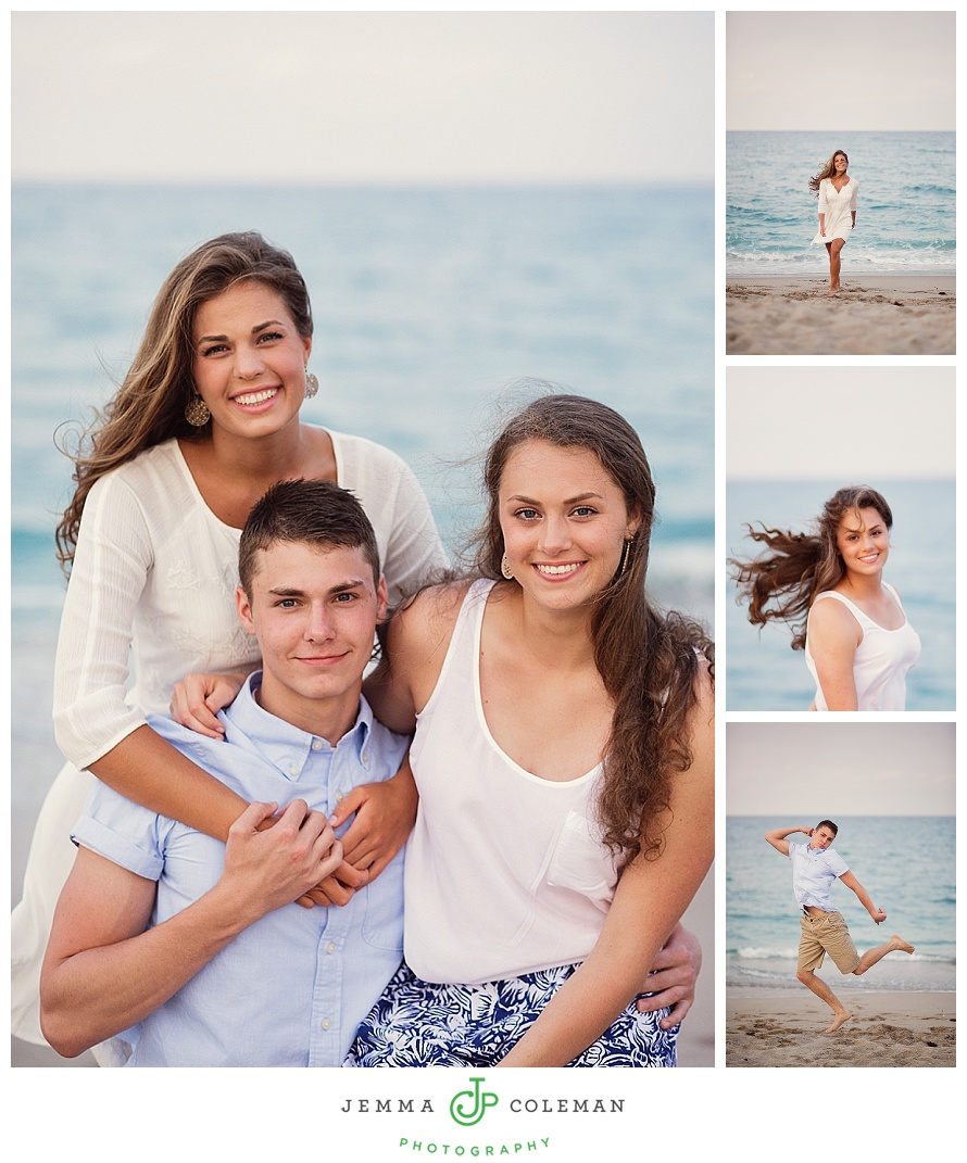 Fun Family Vacation Photos on Singer Island