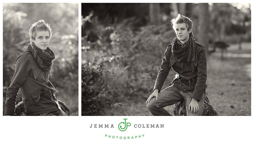 Senior High School Portraits Jupiter South Florida