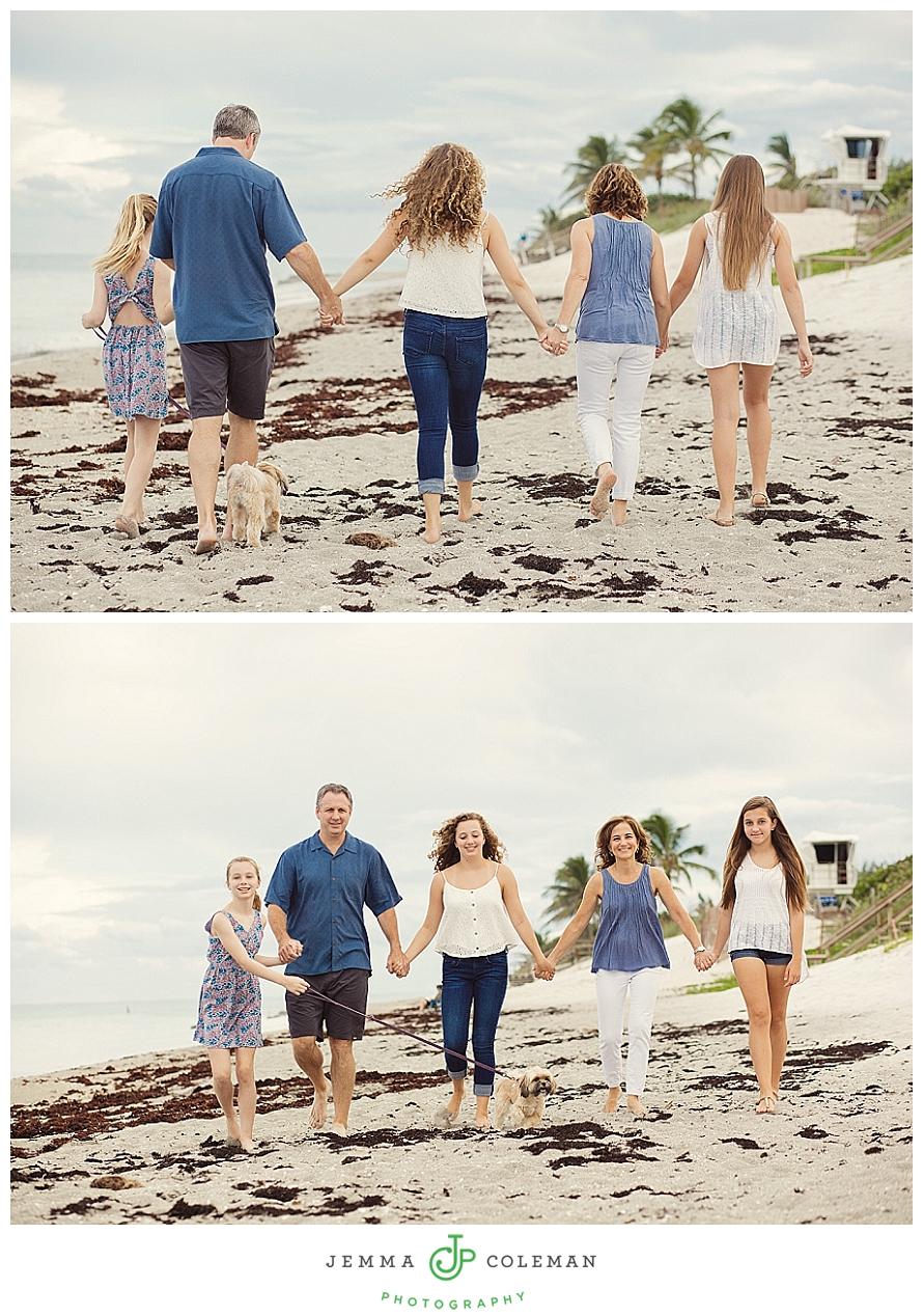 Family Beach Portraits on Jupiter Island