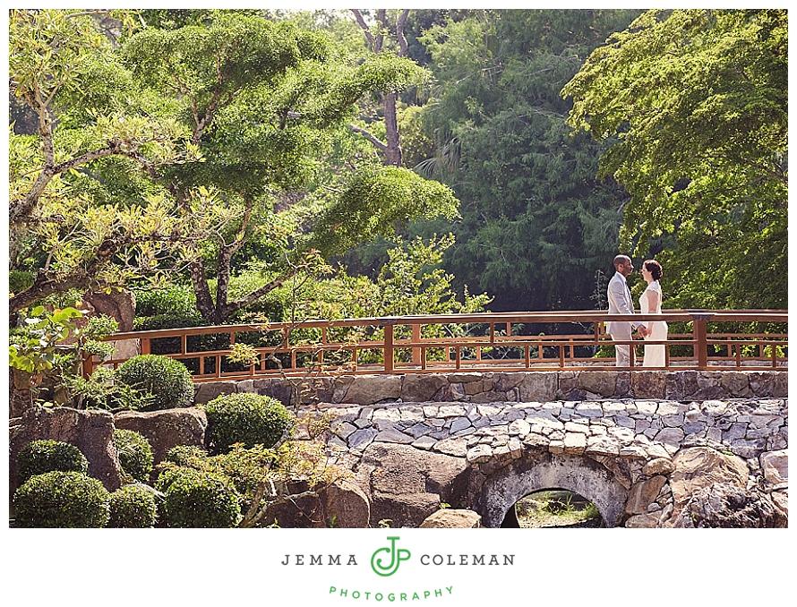 Morikami Museum And Gardens Intimate Wedding Jemma Coleman Photography